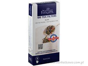 Papierowe filtry do herbaty Finum rozmiar S 100 szt.