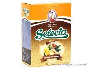 Yerba Mate Selecta Ginger Lemon and Honey 0,5 kg
