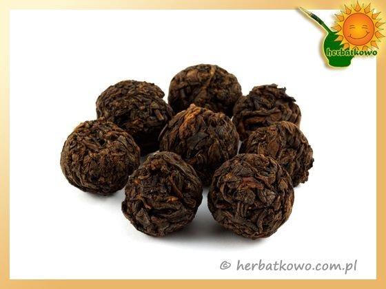 Herbata Pu Erh Dragon Pearls