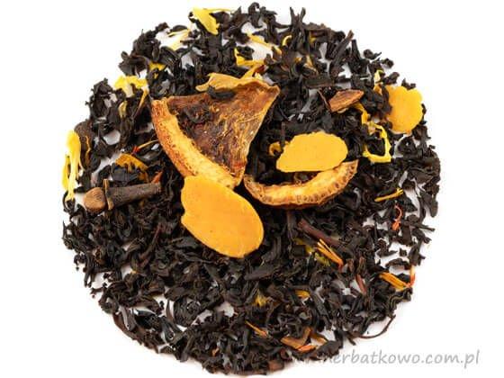 Herbata czarna Beczka Rumu