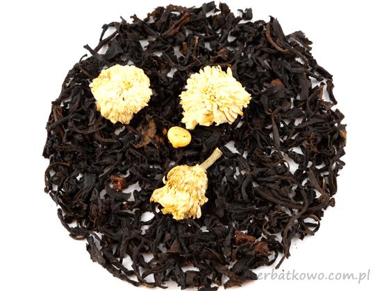 Herbata czarna Truskawki z Kremem