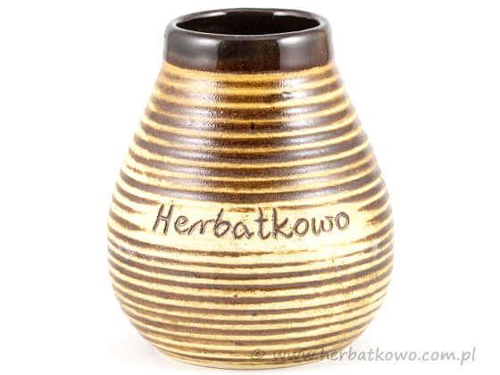 Matero ceramiczne Herbatkowo do Yerba Mate