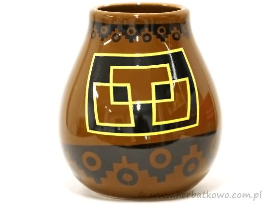 Matero ceramiczne PERU do Yerba Mate