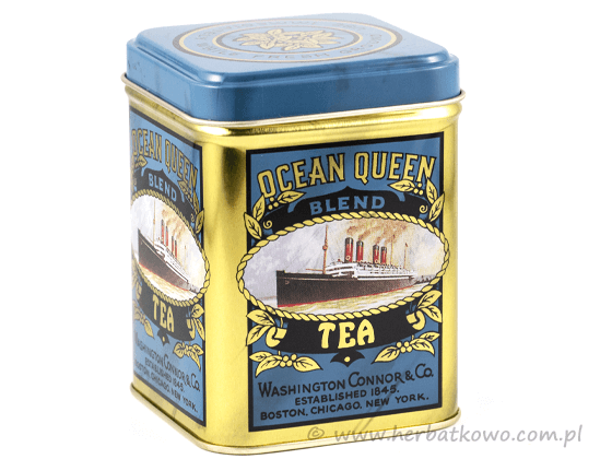 Puszka na herbatę Ocean Queen 100g