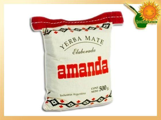Yerba Mate Amanda 0,5 kg w woreczku