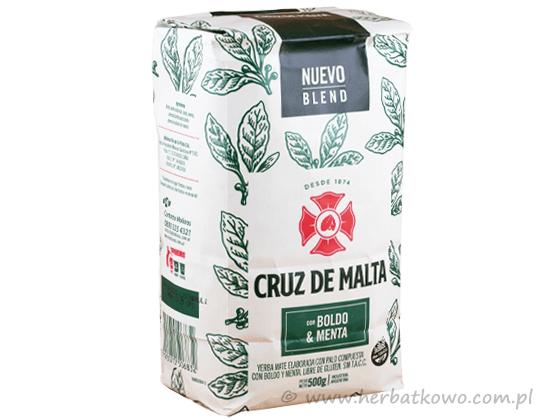Yerba Mate Cruz de Malta Boldo Menta 0,5 kg