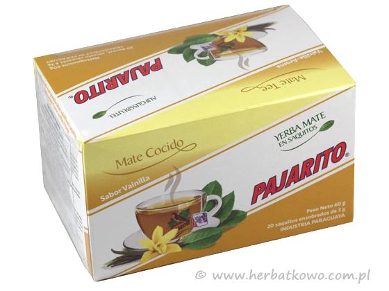 Yerba Mate Pajarito wanilia w saszetkach 20 x 3g