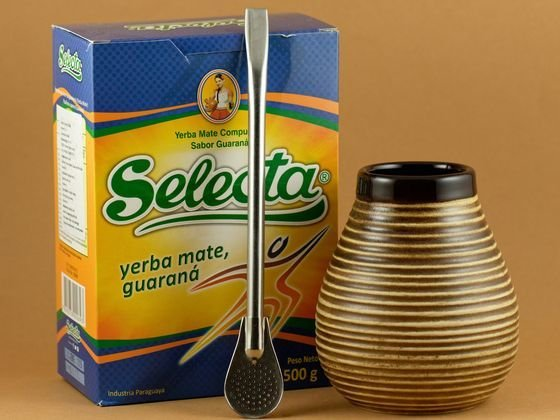 Yerba Mate Starter Ceramiczny Selecta Energy
