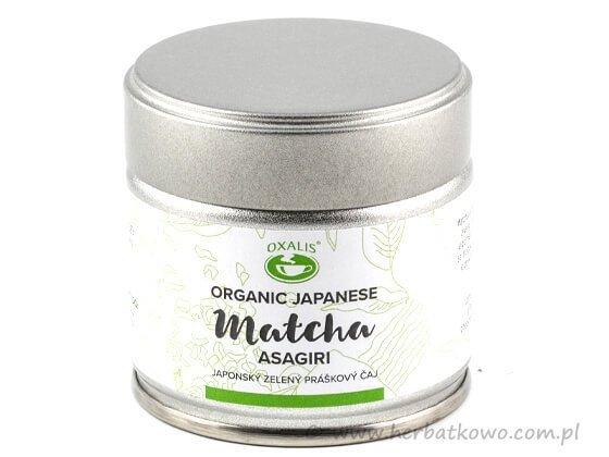 Zielona herbata Organic Japan Matcha Asagiri 30g