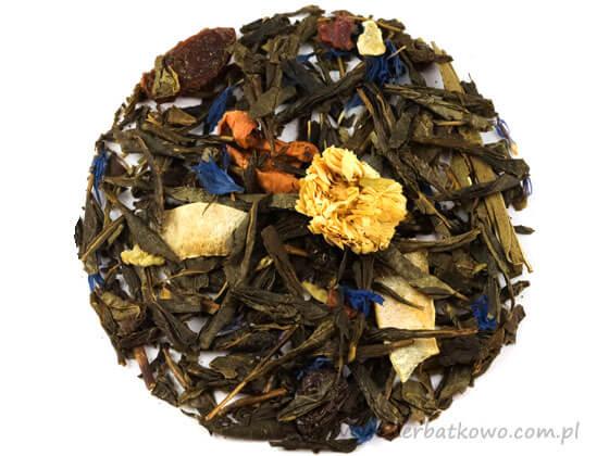 Zielona herbata Romantyczny Wieczór